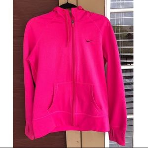 Nike ThermaFit Pink Hoodie XL